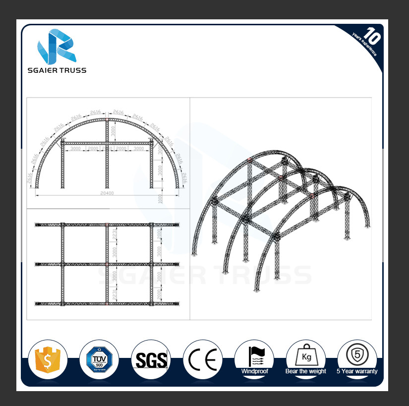 china latest news about How Important The Truss Fittings In A Stage Truss Structure