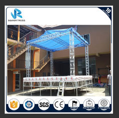 Tower Lifting Lighting Sgaier Truss Square / Circle / Arch / Triangle Ladder Shape supplier