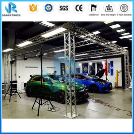 Stable Modular Aluminum Truss Display 290mm - 1200mm Size Customized Length