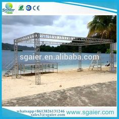 Strong Exhibition Truss System , Easy Set Up Aluminum Alloy 20x20 Trade Show Booth
