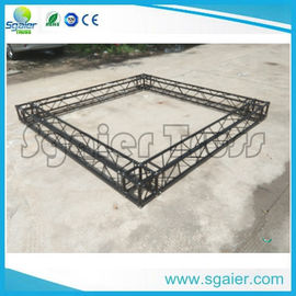 Black Structural Aluminum Truss Display For Exhibition Trade Show Booth