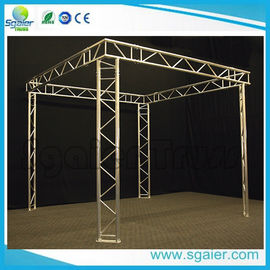 Exhibit Booth Tv Aluminum Truss Display Durable With Ladder Easy Transport