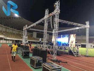 Global Milos Aluminum Roof Truss Lighting Tower For Fashion Show / Exhibition supplier