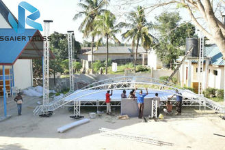 Lightweight Sgaier Truss High Performance For Stage / Roof Easy To Build Up