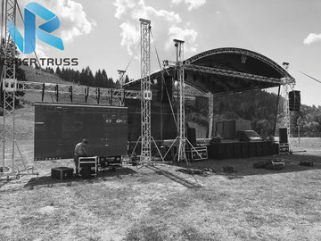 Non Toxic Aluminum Roof Truss For Line Array / Exhibition Easily Set Up