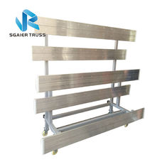 Portable 2 Row Aluminum Bleachers , Environmentally Friendly Padded Stadium Seats With Backs supplier