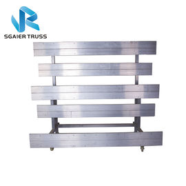 Practical School Football Aluminum Stadium Bleachers Movable Telescopic Seat