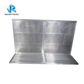 Security Crowd Control Barrier Foldable For Concert / Sport Events Easy To Install