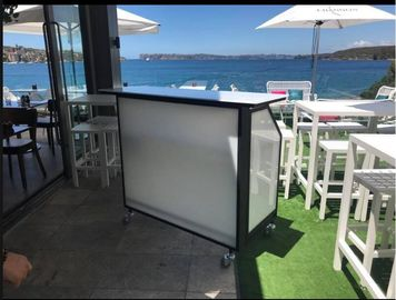 Smart Rechargeable Mobile Bar Counter Waterproof For Pub / Beach Party