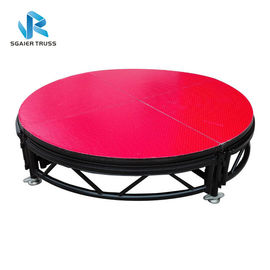 Adjustable Height Outdoor Concert Stage Non Slip Surface Aluminium Stage Deck Platform