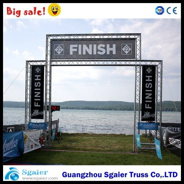 Goal Post Led Screen Truss Weather Resistant High Strength For Racing Events