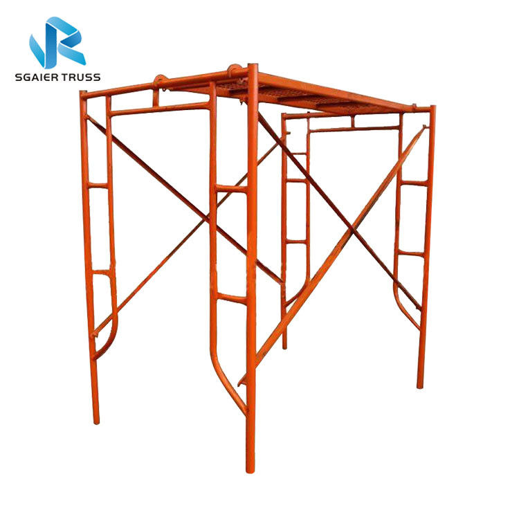 Steady Steel / Aluminium Mobile Scaffold Flexible Frame Parts Easy To Use